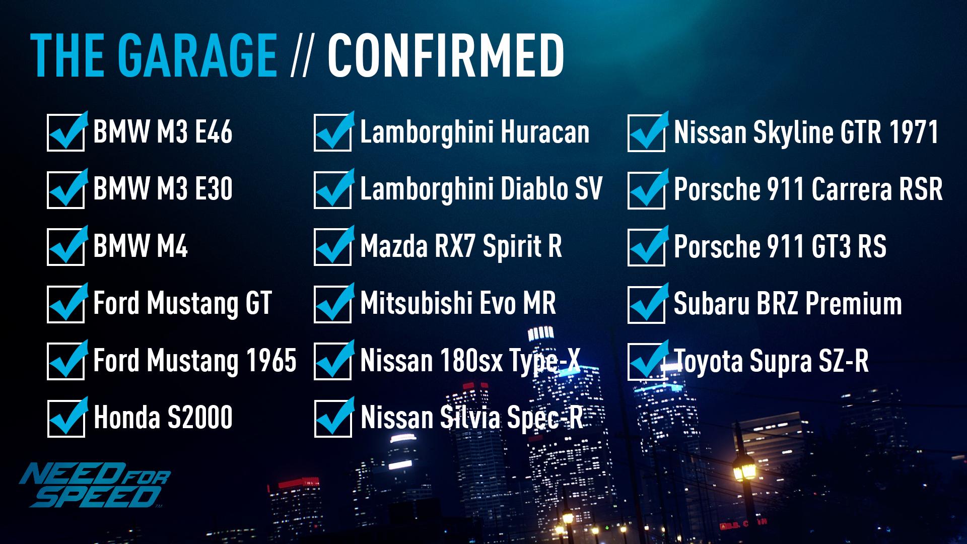 Klicken Sie auf die Grafik für eine größere Ansicht  Name:NFS2015 confirmed cars.png Hits:8073 Größe:1,63 MB ID:844954