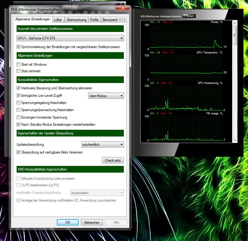 MSI Afterburner 3 0 0 Beta 16 - bin ich blind?