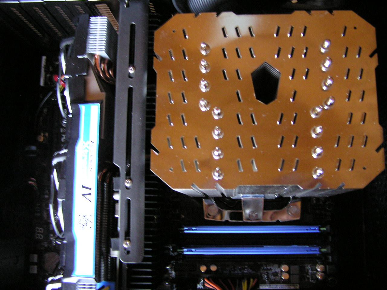 Thermalright HR-22 Abstand Bachplate Grafikkartenkühler (ca. 3,5cm)