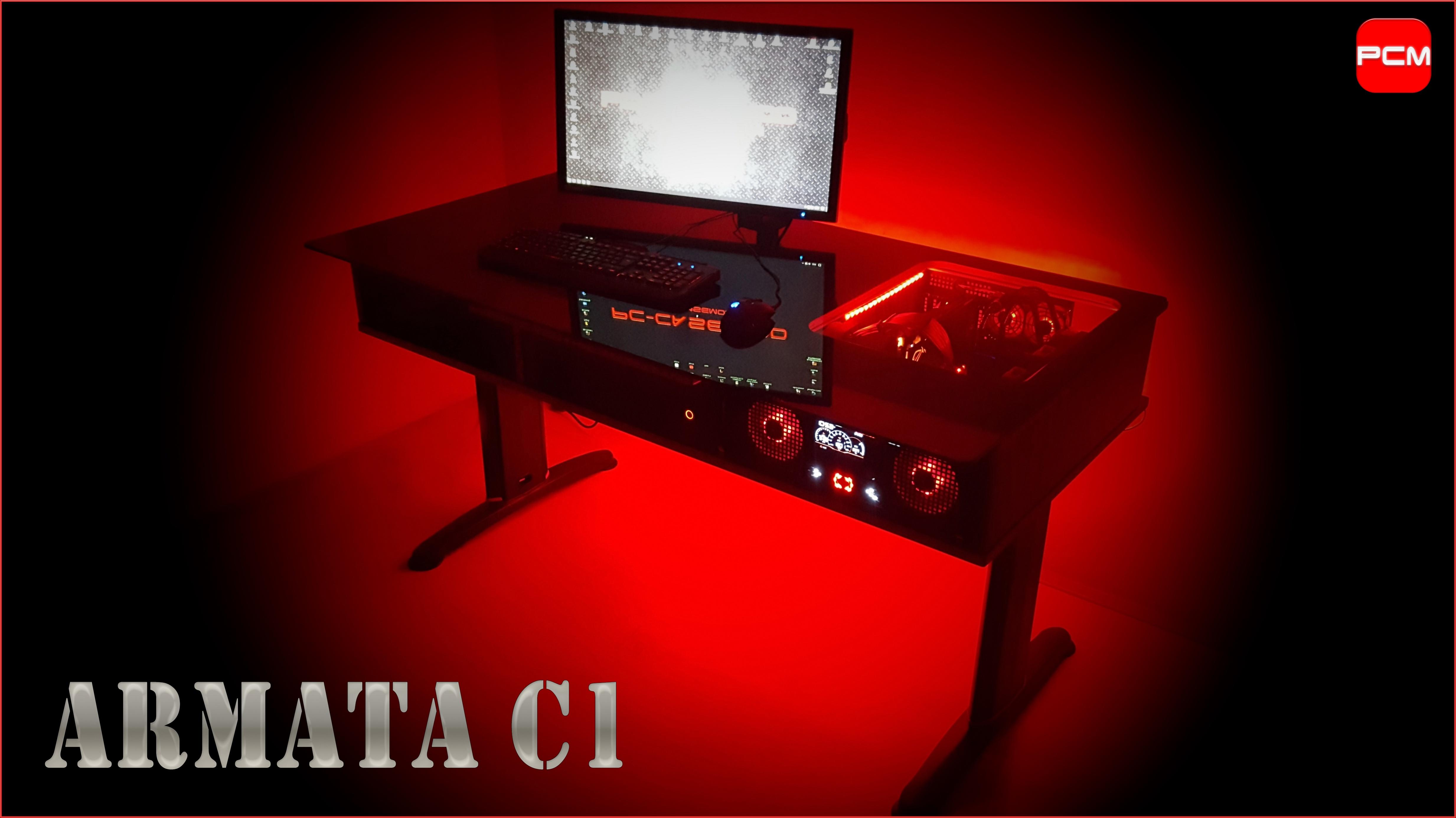 Klicken Sie auf die Grafik für eine größere Ansicht  Name:PC CASE MOD Tischgehäuse Armata C1.jpg Hits:71 Größe:1,16 MB ID:998760