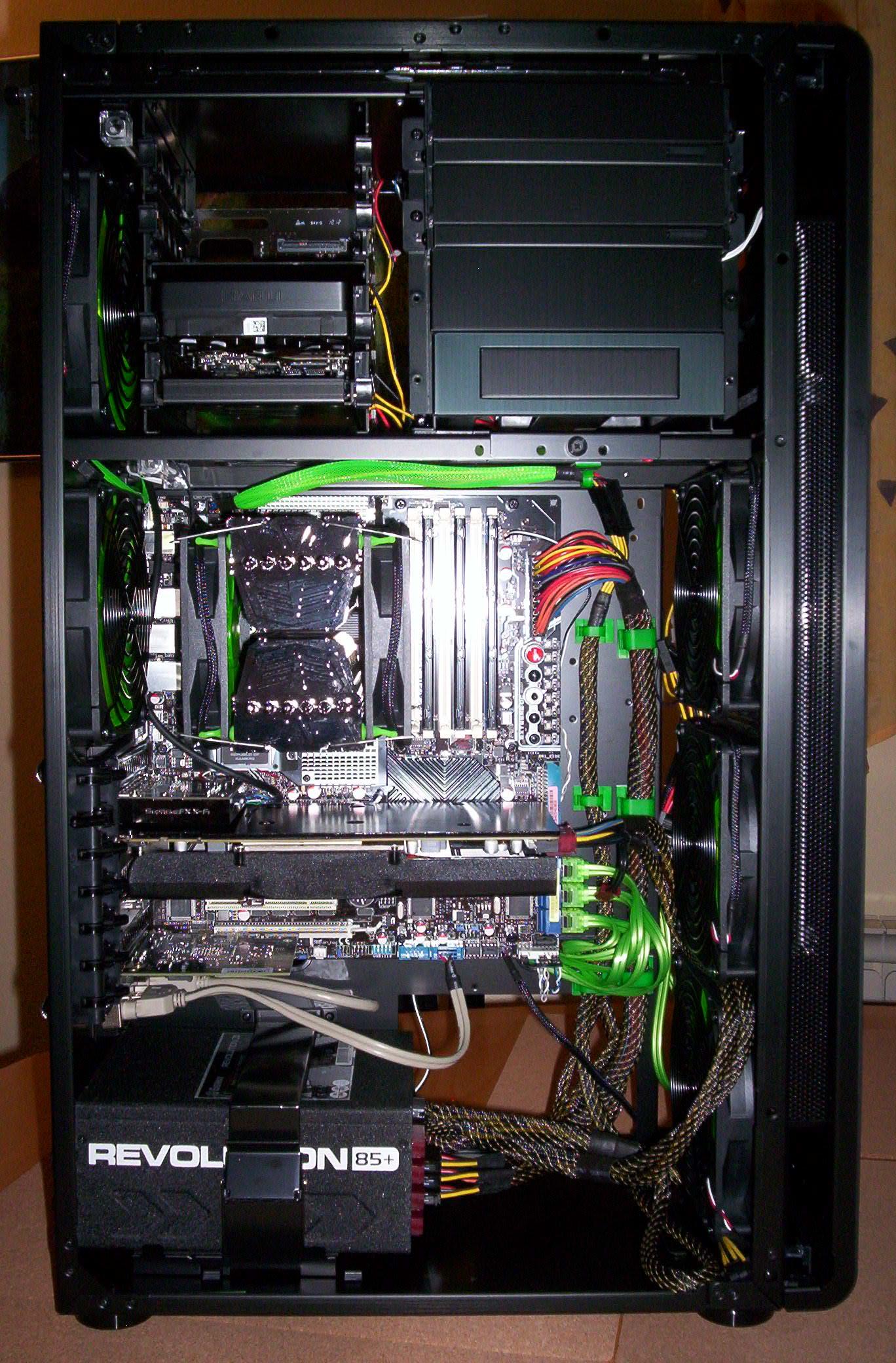2x Sapphire 5870 (AMD Crossifre) und gemeinsame Lüftersteuerung mit ...