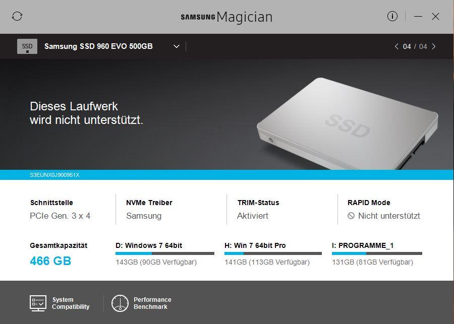 Klicken Sie auf die Grafik für eine größere Ansicht  Name:SamsungMagician_960evo.JPG Hits:70 Größe:65,8 KB ID:980574