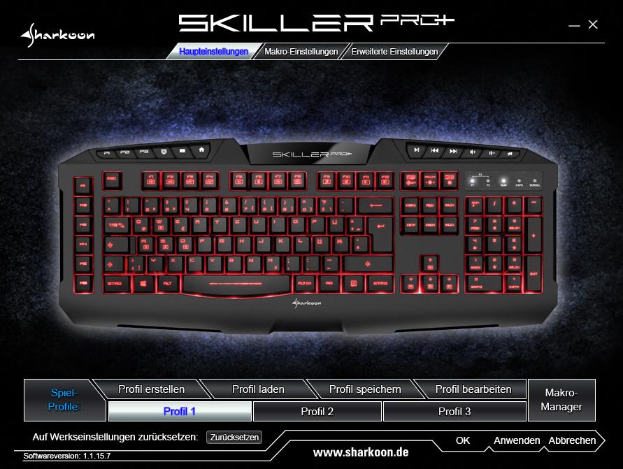 sharkoon skiller pro