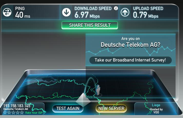 testen wie schnell das internet ist