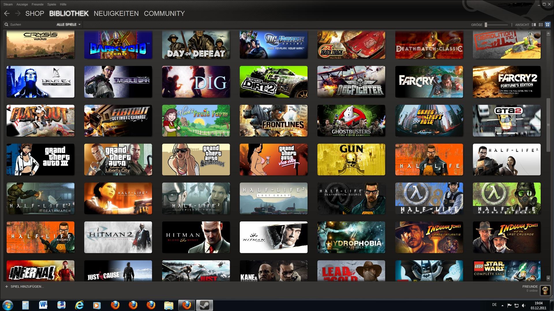 Viele Spiele