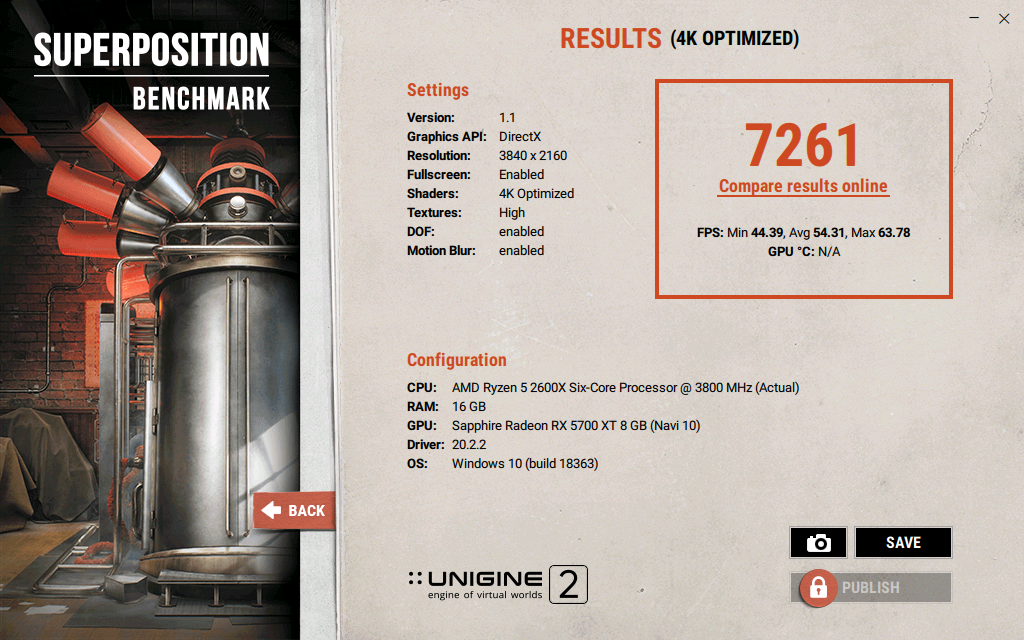 Superposition Benchmark v1.1 7261 1583613920