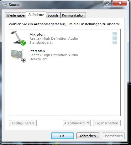mikrofon ausschalten windows 10