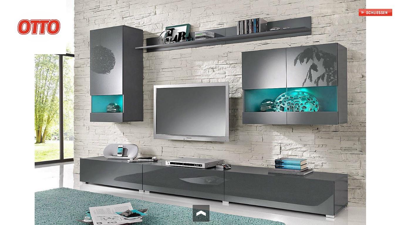 Vitrinen Und Tv Beleuchtung Mit Einer Fernbedienung