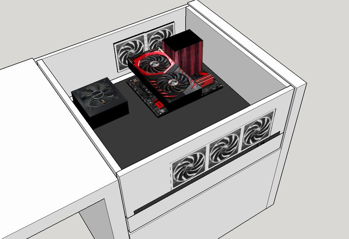 schreibtisch eigenbau luftstrom in ordnung. Black Bedroom Furniture Sets. Home Design Ideas