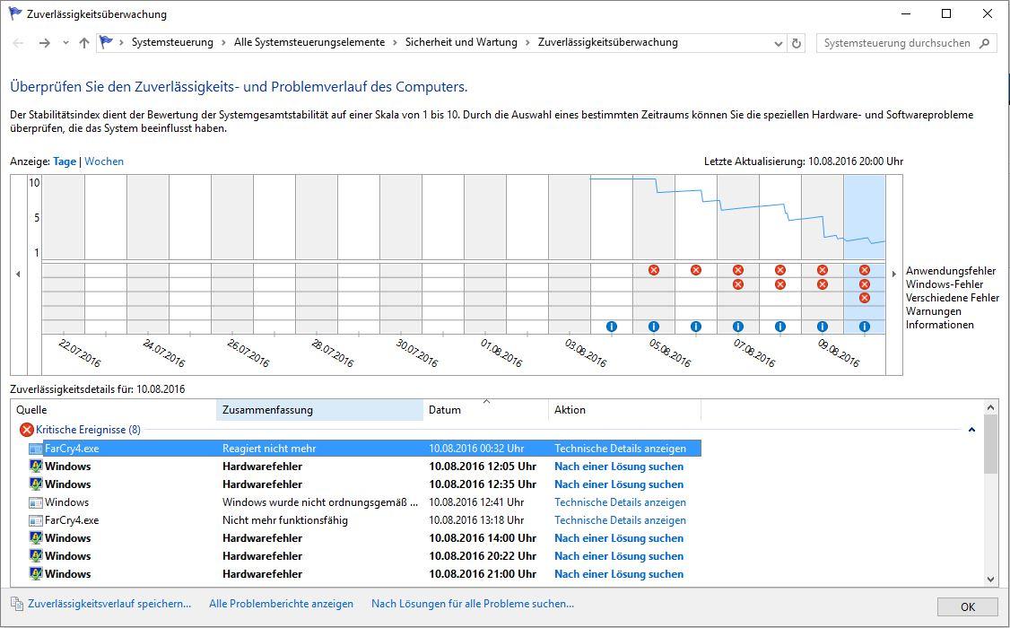 gründe defekter updater windows
