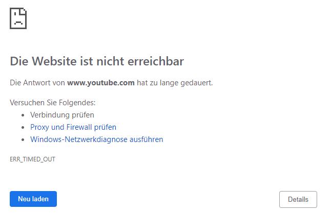 Probleme Mit Chrome