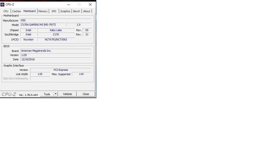 MSI Z170A Gaming M5 USB 3.0 Problem
