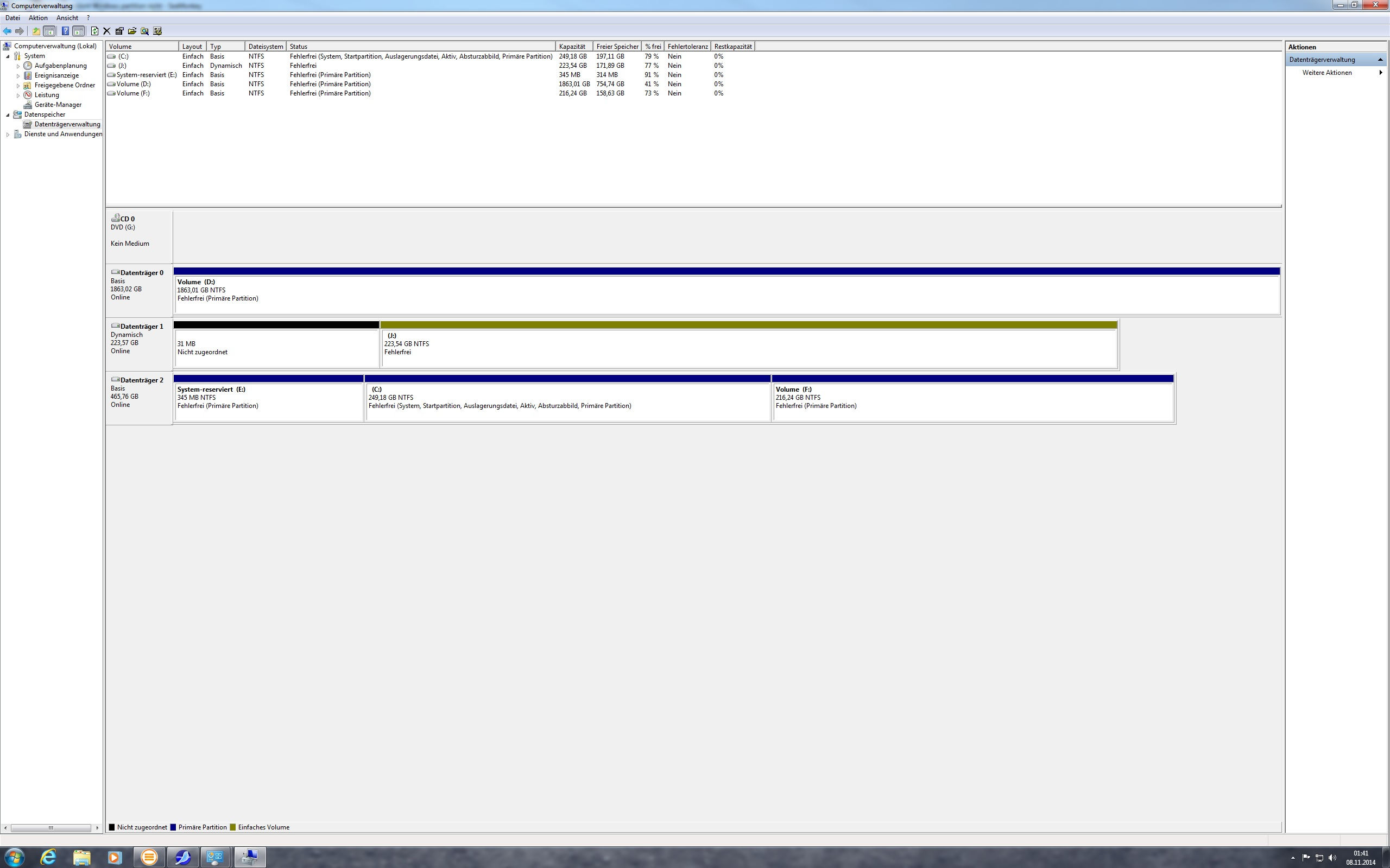 Sandisk SSD Software klont Windows partition nicht