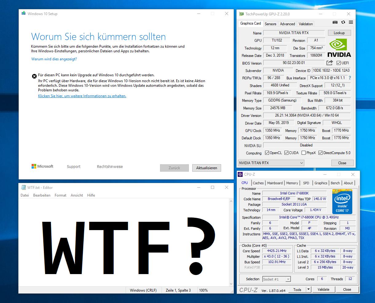 Windows 10 1903 auf Titan RTX & Broadwell.png