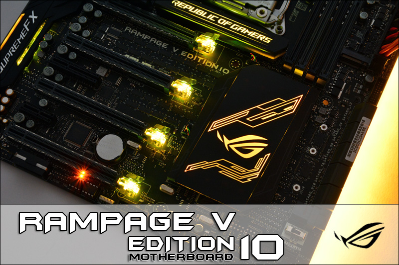 Review Rampage V Edition 10