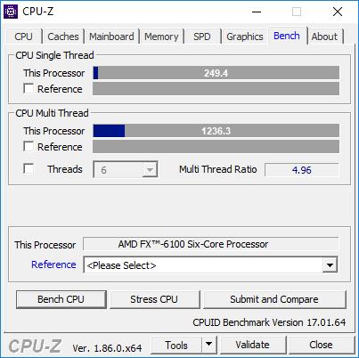 AMD FX 6100 @4.50GHz
