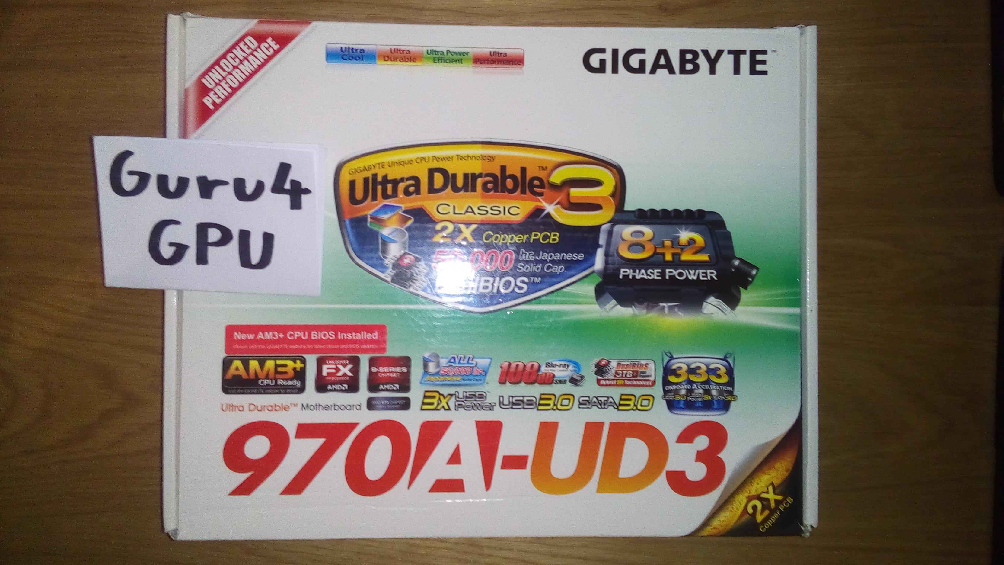 AMD FX-6100 + Gigabyte GA-970A-UD3 Bundle 1