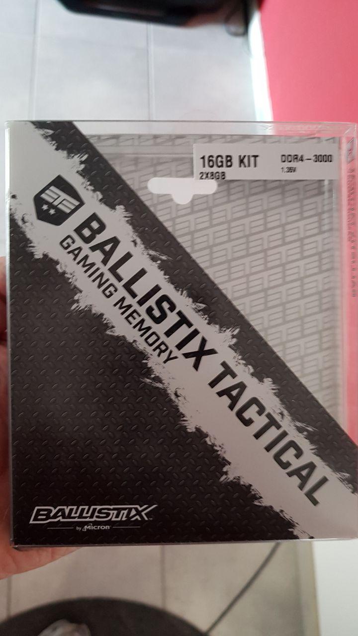 Ballistix Tactical DDR4 3000Mhz
