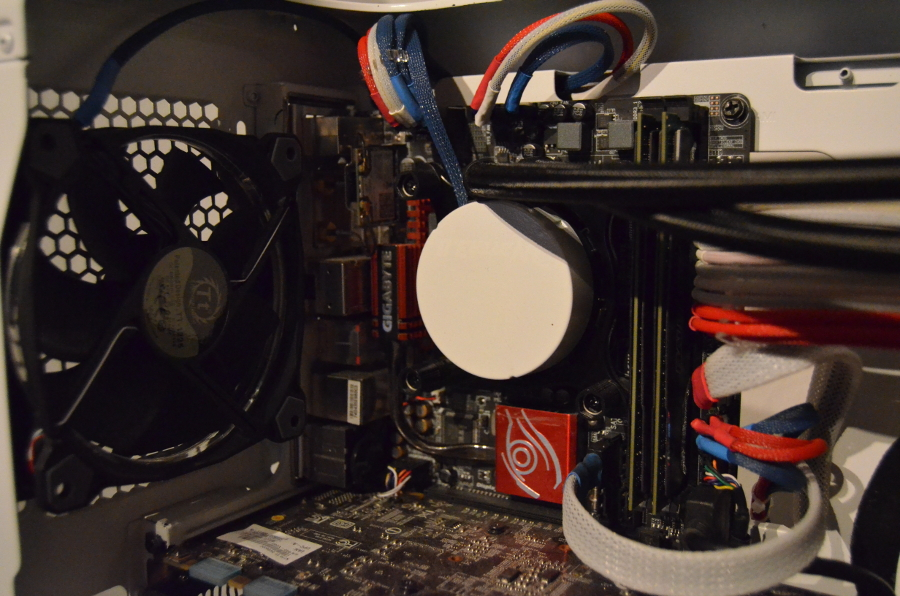 CPU water