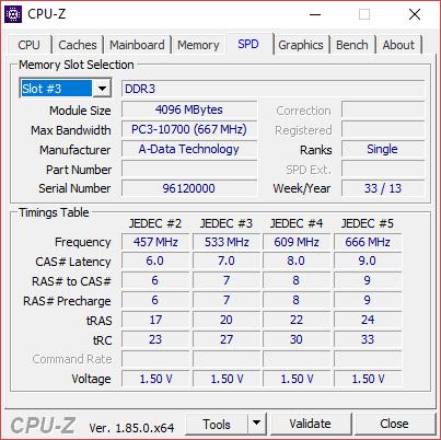 CPU Z 5