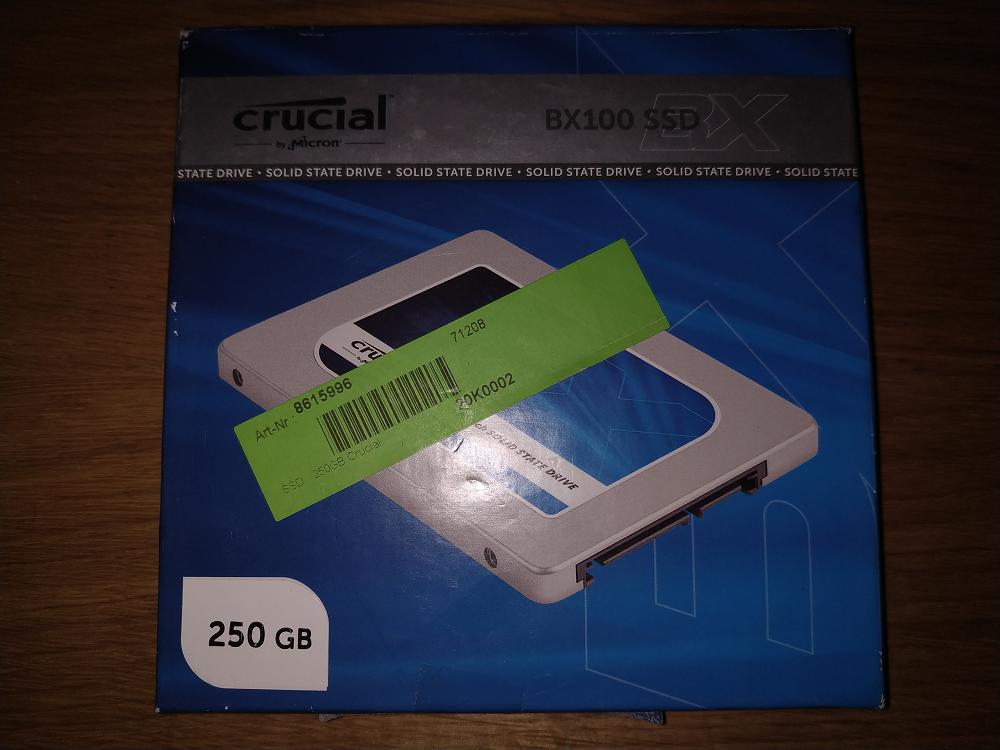 Crucial BX 100 250GB 2