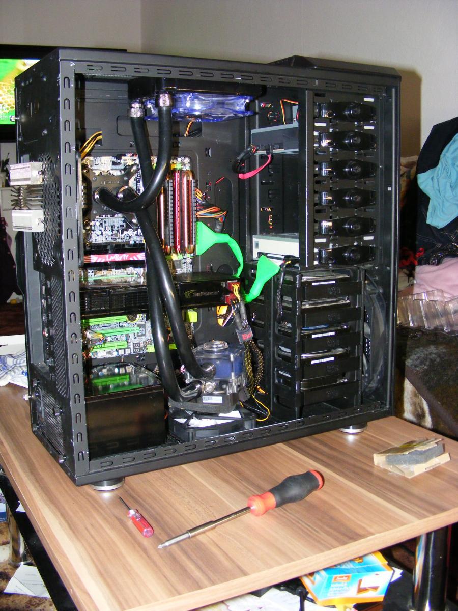 Neuer Rechner mit CPU:Intel Xeon W3520 ES