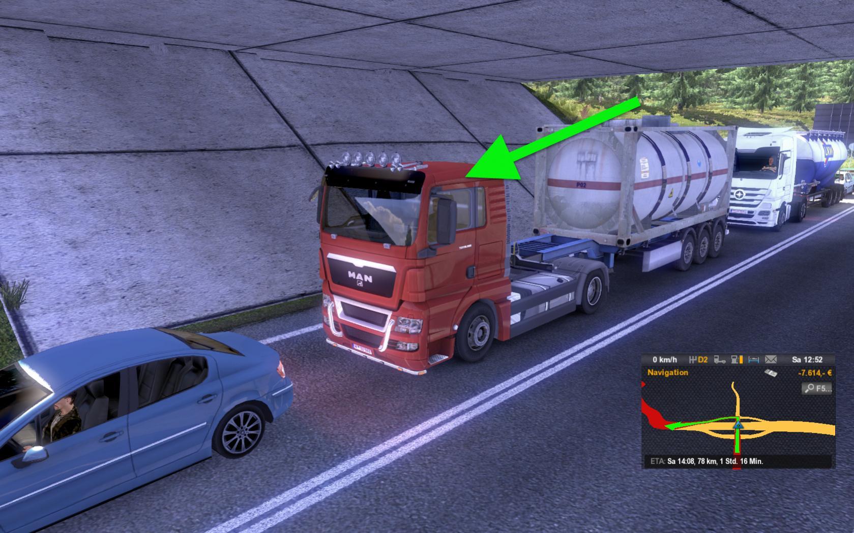 Патч для Euro Truck Simulator 2