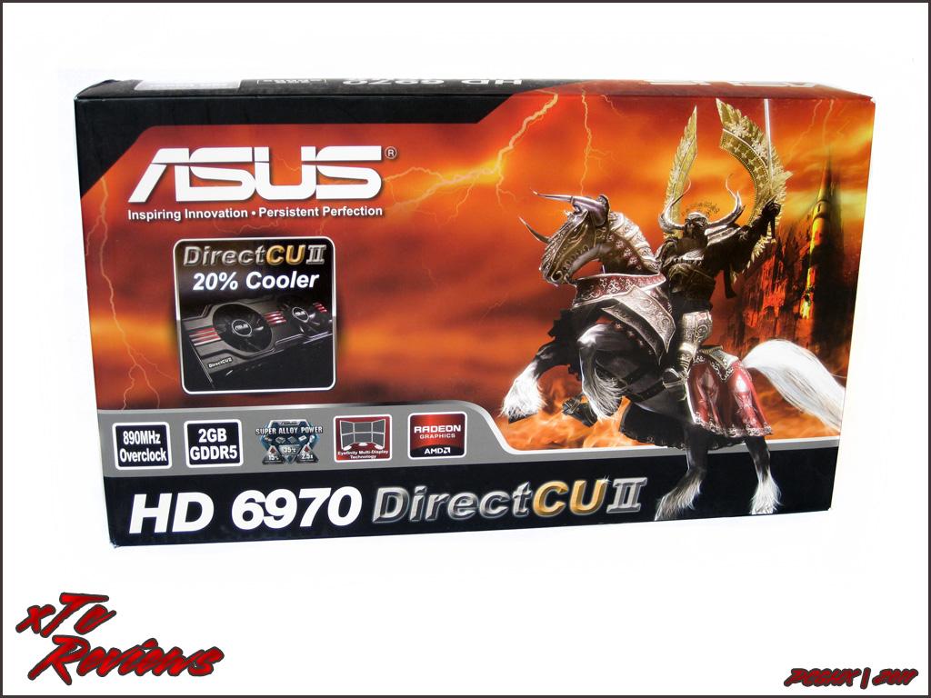[Review] Asus Radeon HD 6970 DirectCUII Im PCGHX-Check