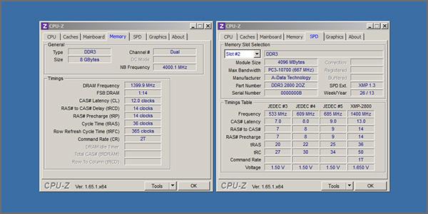 IMG Adata XGP2 DDR 2800 CPU Z sml