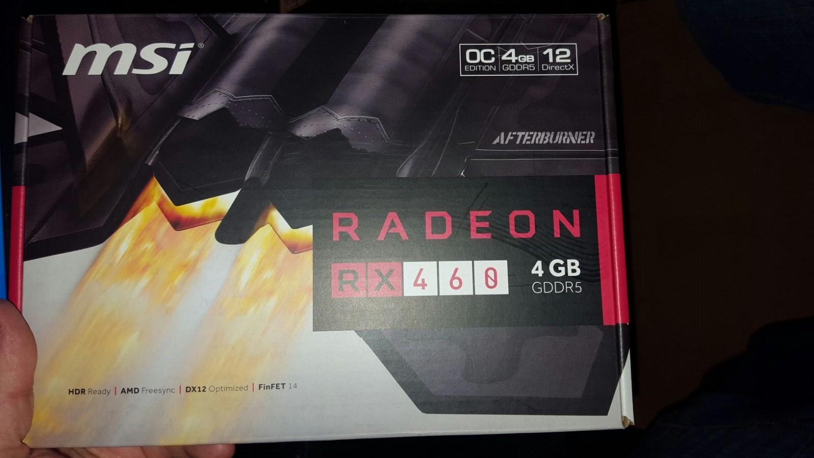 MSI Radeon RX460