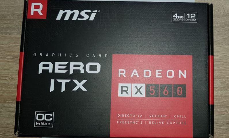 MSI RX560 AERO ITX 4G