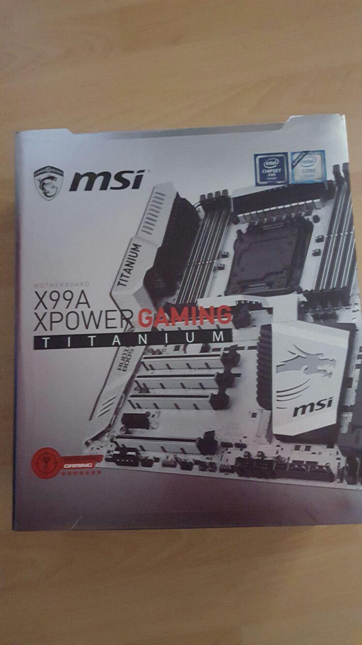 MSI X99-Gaming Titanium