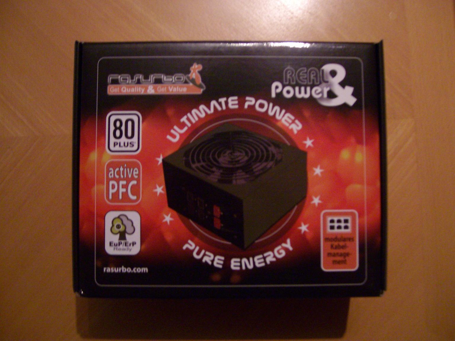 Rasurbo Real&Power 550W