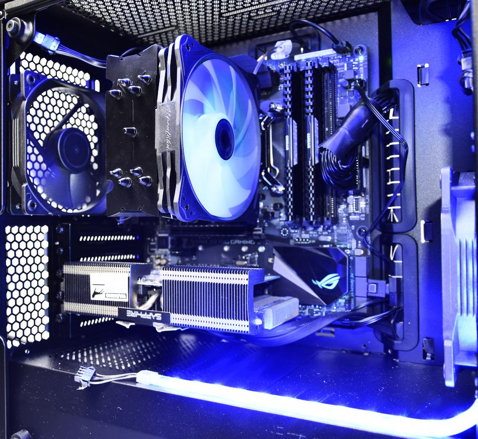 Alpenfön Ben Nevis Advanced RGB Black